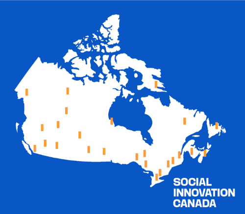 Social Innovation Canada illustration map