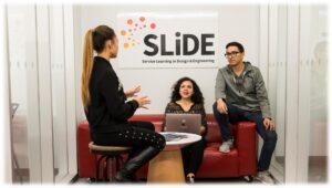 Team working at SLiDE